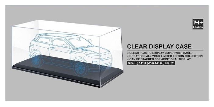 Clear Display Case for 1:18 scale diecast