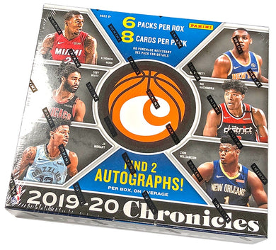 2019-20 Panini Chronicles Basketball NBA Hobby Box