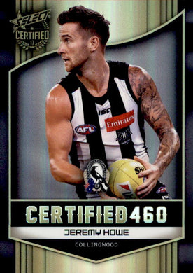 Jeremy Howe, Certified 460, 2017 Select AFL Certified