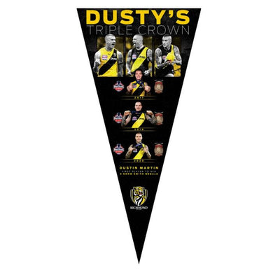 Dustin Martin 2020 Triple Crown Pennant