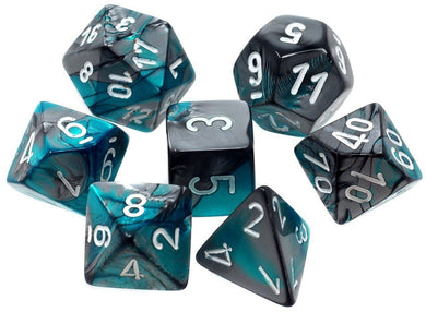 CHX 26456 Gemini Steel Teal/White 7-Die Set