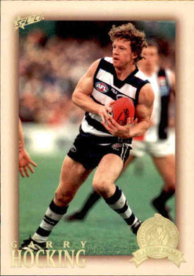Garry Hocking, HFLE194, Hall of Fame Series 4, Red Back, 2012 Select Eternity AFL