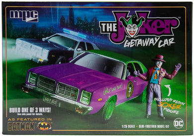 Batman Joker Goon Car, 1978 Dodge Monaco Plastic Kit, 1:25 Scale Model Kit