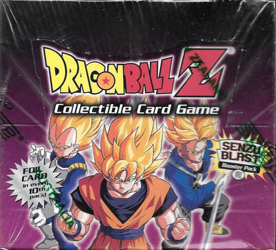 2001 Dragon Ball Z Trunks Saga Card Game Sealed Box