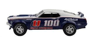 Allan Moffat Racing U100, 1969 Trans Am Mustang, 1:64 Diecast Model Car