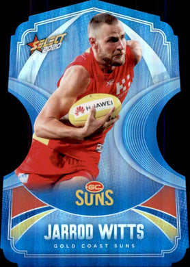 Jarrod Witts, Ice Blue Diecuts, 2020 Select AFL Footy Stars
