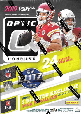 PANINI 2019-20 Donruss Optic NFL Football (Hobby) Blaster