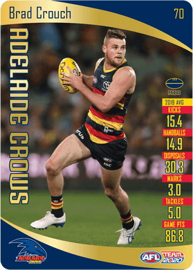 Brad Crouch, Gold, 2020 Teamcoach AFL