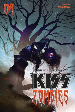 Kiss Zombies #4, Cover B Comic