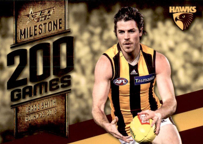 Isaac Smith, 200 Games Milestone, 2020 Select AFL Footy Stars
