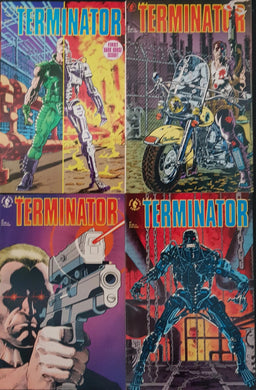 The Terminator Comic Set of 4. #1, #2, #3 & #4.