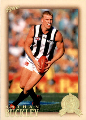 Nathan Buckley, HFLE213, Hall of Fame Series 4, Red Back, 2012 Select Eternity AFL