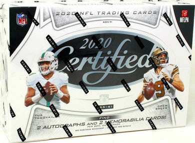 2020 Panini Certified Hobby Football NFL Box