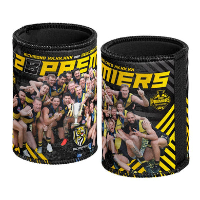 Back to Back, Richmond Tigers 2020 AFL Premiership Team Can Cooler