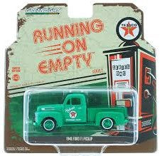 Green Machine 1948 Ford F1 Pickup, Running on Empty Series, 1:43 Diecast Vehicle