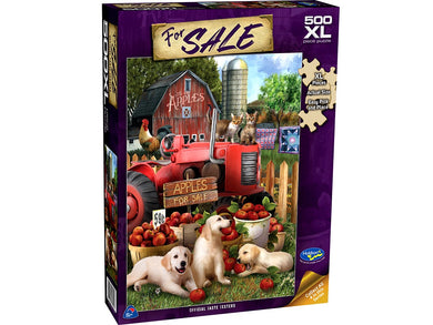 FOR SALE, Official Taste Testers, 500XL Piece Jigsaw Puzzle