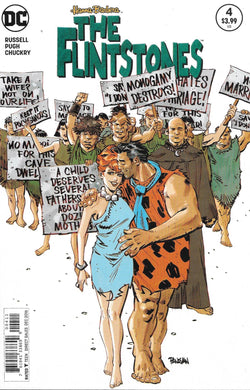 Hanna Barbera The Flintstones #4 Comic