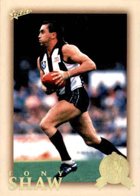 Tony Shaw, HFLE207, Hall of Fame Series 4, Red Back, 2012 Select Eternity AFL