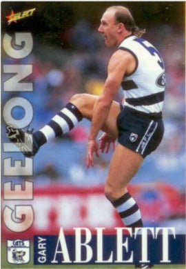 1996 Select AFL Series 1 Trading Card Base Set of 250 cards