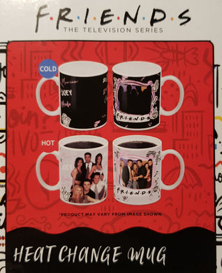 FRIENDS HEAT CHANGE MUG