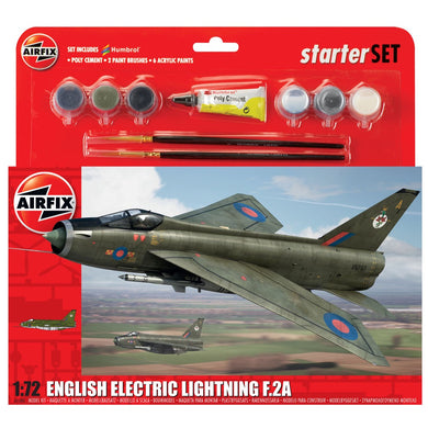 AIRFIX ENGLISH ELECTRIC LIGHTNING F2A 1:72  Model Kit