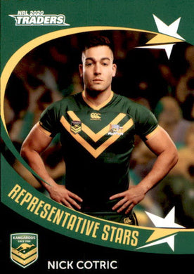 RS3 Nick Cotric, Representative Stars, 2020 TLA Traders NRL