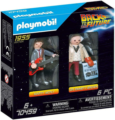 Playmobil - Back to the Future Marty McFly and Dr. Emmett Brown 1955
