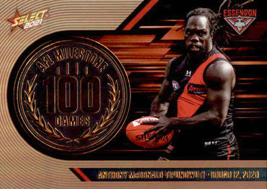 Anthony McDonald-Tipungwuti, 100 Games Milestone, 2021 Select AFL Footy Stars