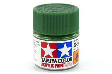 TAMIYA ACRYLIC MINI X-5 GREEN 10ml