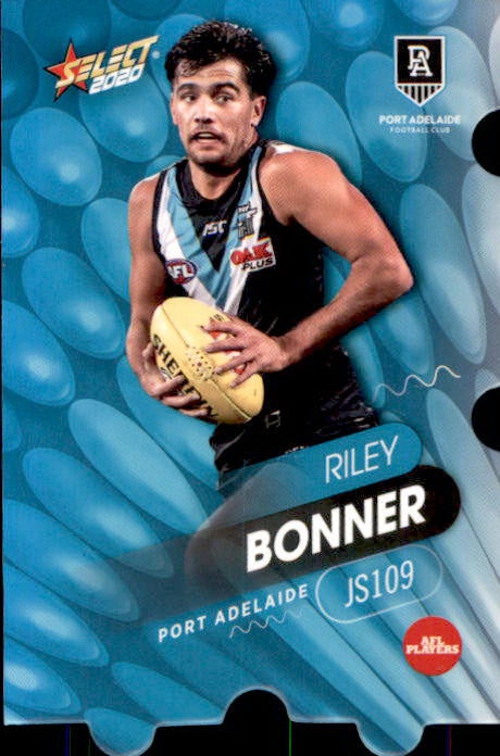 JS109 Riley Bonner, Jigsaw, 2020 Select AFL Footy Stars