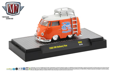 1960 VW Delivery Van, EMPI Equipped, M2 Machines, 1:64 Diecast Vehicle