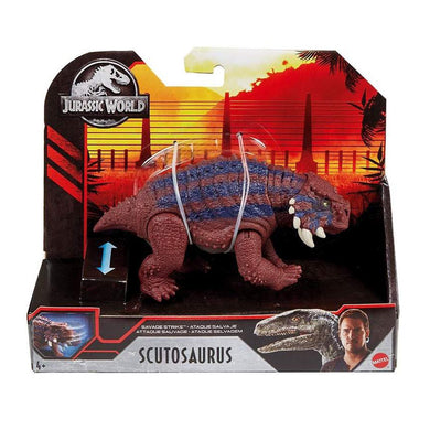 Jurassic World Savage Strike - Scutosaurus