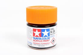 TAMIYA ACRYLIC MINI X-26 CLEAR ORANGE 10ml