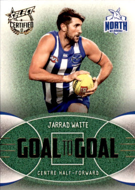 Jarrad Waite, Goal to Goal, 2017 Select AFL Certified