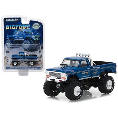 Bigfoot #1, The Original, 1974 Ford F-250 Monster Truck, 1:64 Diecast Vehicle