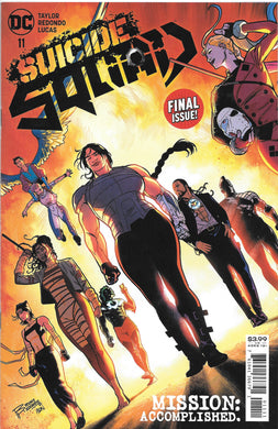 Suicide Squad #11 Final Issue Comic