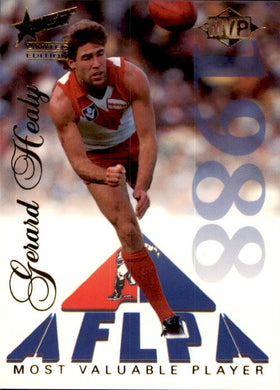 Gerard Healy, MVP, 1995 Select Limited Edition AFL Sensation