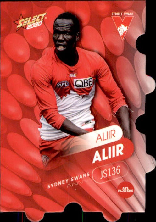 JS136 Aliir Aliir, Jigsaw, 2020 Select AFL Footy Stars