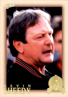 Kevin Sheedy, HFLE217, Hall of Fame Series 4, Red Back, 2012 Select Eternity AFL