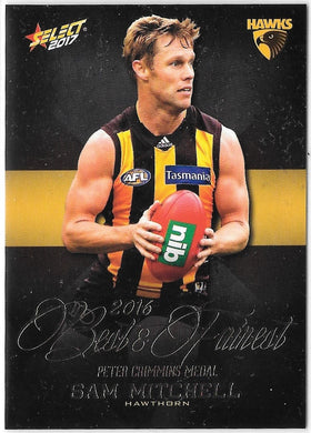 Sam Mitchell, Best & Fairest, 2017 Select AFL Footy Stars