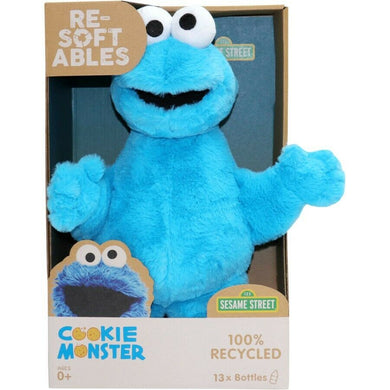 Sesame Street Cookie Monster Re-Softables Plush