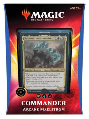 MAGIC: THE GATHERING Ikoria: Lair of Behemoths - Arcane Maelstrom Commander Deck
