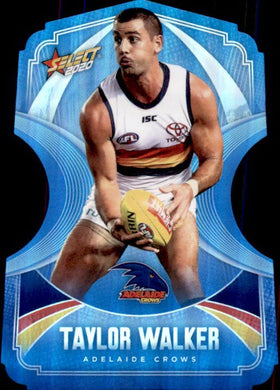 Taylor Walker, Ice Blue Diecuts, 2020 Select AFL Footy Stars