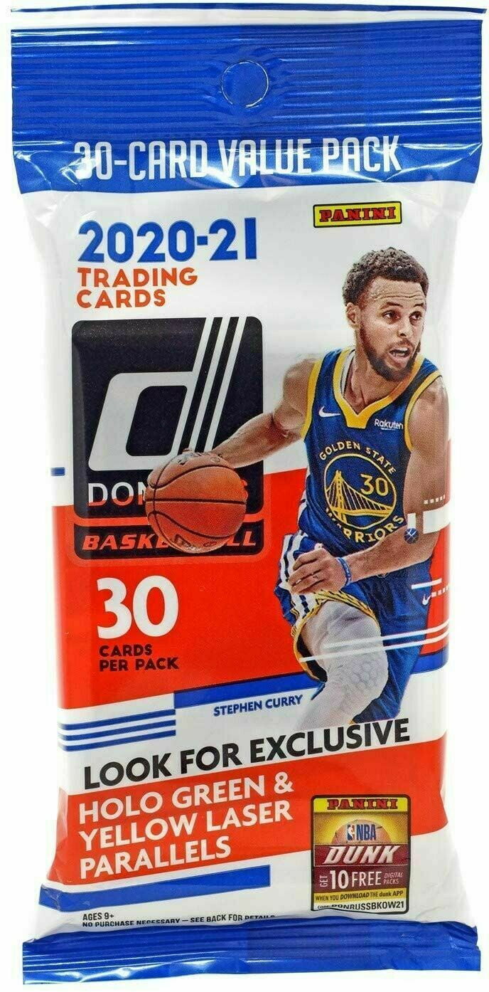 2020-21 Panini Donruss Basketball NBA Fat Pack