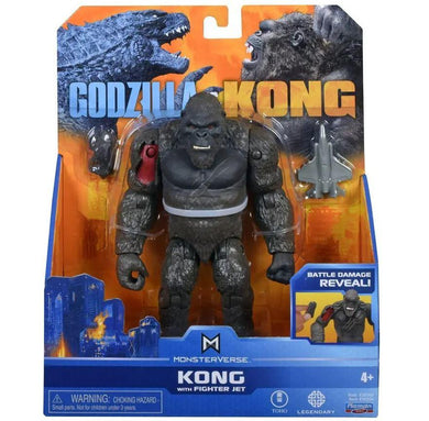 Kong with Fighter Jet Monsterverse 6