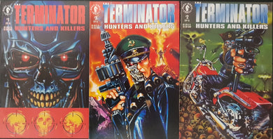 The Terminator Hunters & Killers Comic Set of 3. #1, #2 & #3