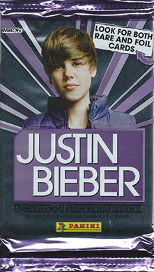 Justin Bieber Trading card Pack