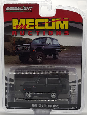 1968 Icon Ford Bronco, Mecum Auctions, 1:64 Diecast Vehicle