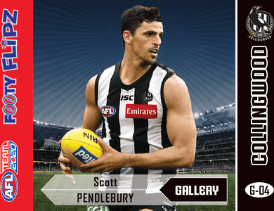 Scott Pendlebury, Footy Flipz Gallery, 2020 Teamcoach AFL
