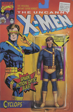 X-Men Legends #1, Carded Cyclops Variant Cover Comic